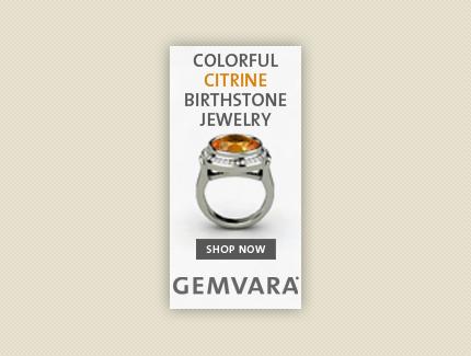 Gemvara Birthstone Banner