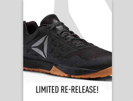 Reebok CrossFit Shoe Release Email Campaign