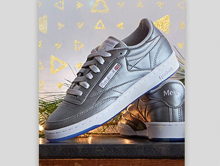 Reebok Classics Shoe Holiday Facebook Ad Image
