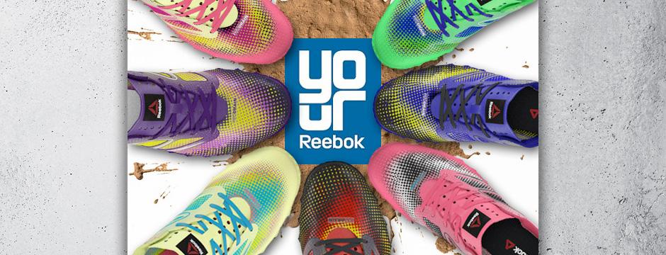 Reebok all-terrain custom shoe email
